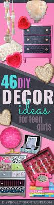 Bedroom Decoration For Teenage Girl 43 Most Awesome Diy Decor Ideas Teen Girls Projects Inspiration