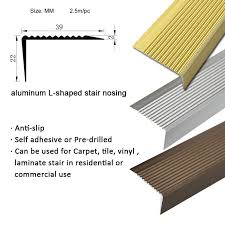Tile Stair Nosing Trim by Tiles Edge Protection Tile Step Strip Aluminum Stair Nosing Trim