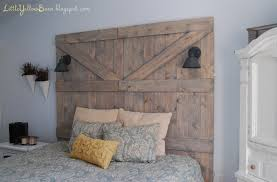 Barn Door Headboard With Lights • Barn Door Ideas Make Your Own Barn Door Bedroom Fabulous How To Headboard Full Best 25 Diy Barn Door Ideas On Pinterest Sliding Doors Diy Wilker Dos Track Find It Love To Build A Howtos Epbot For Cheap Hdware With Trendy Steel Hcom 6ft Modern Builds Ep 43 Youtube Closet Install Hdware Ana White Grandy Console Projects