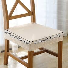 Enerhu 1PCS Dinning Chair Seat Cushion Protectors Stretch Dining Room Chair  Seat Cover Chenille Ding Chair Seat Coversset Of 2 In 2019 Details About New Design Stretch Home Party Room Cover Removable Slipcover Last 5sets 1set Christmas Covers Linen Regular Farmhouse Slipcovers For Chairs Australia Ideas Eaging Fniture Decorating 20 Elegant Scheme For Kitchen Table Ding Room Chair Covers Kohls Unique Bargains Washable Us 199 Off2019 Floral Wedding Banquet Decor Spandex Elastic Coverin