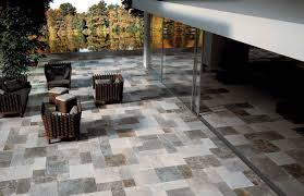 outdoor tile floor porcelain stoneware textured pantheon