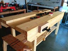 Vise To Build An Lshaped Tail Using Lee Valley Hardware Pallet Pics On Mesmerizing Make A Wood Diy Woodworking Bench Jpg