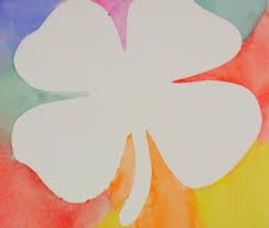 Watercolor Techniques Positive And Negative Shamrocks