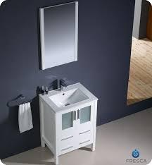 Menards Bathroom Vanities 24 Inch by Fresca Fvn6224wh Uns Torino 24