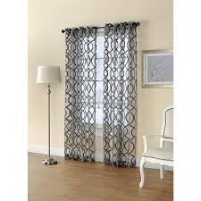 Sears Blackout Curtain Panels by Printed Sheer Window Panel Dress Up Your Home With Sears And