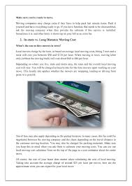 How Much Are Average Moving Costs Pages 1 - 14 - Text Version ...