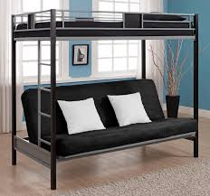 bunk beds loft bunk beds full size loft bed with desk and futon