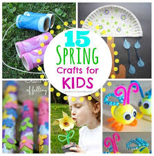 15 Spring Crafts For Kids SO Many Easy Ideas I Would Actually Do