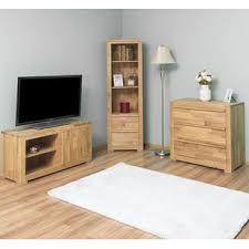 wohnzimmermöbel set wildeiche 3 teilig landhausstil