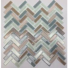 american olean mosaic tile american olean royal palm mixed material and glass mosaic