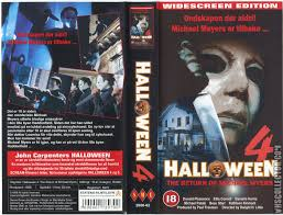 Halloween 4 And 5 Cast by Halloween 4 The Return Of Michael Myers Halloween 4 Book Cover