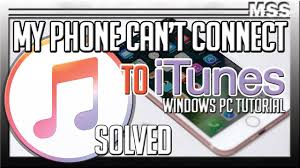 Why iTUNES is NOT connecting with my Apple device iPhone iPad