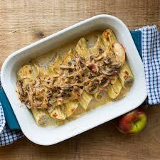 cuisiner coeur de porc manicotti au porc et aux pommes sauce aux chignons tourisme