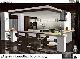 Cool Sims 3 Kitchen Ideas by Jomsims U0027 Magma Limelle Kitchen