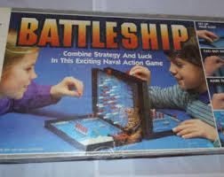 Vintage 1984 Battleship Milton Bradley Complete Ships Naval War
