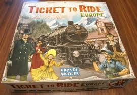 Ticket To Ride Europe Board Game Review Box
