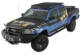 2005-2016 Toyota Tacoma Bolt-On Platform Roof Rack - Double Cab By ... Apex Steel Universal Overcab Truck Rack Toyota And Cars Go Rhino 5924800t Srm200 Roof Autoaccsoriesgaragecom Holden Rodeocolorado Roof Racks 19992016 F12f350 Fab Fours 60 Rr60 Hilux 4dr Ute Double Cab 1015on Vortex Quick Mount The Ultimate Outdoorsman Roof Rack With Green And White Predator Led Rr481 58109677 Ebay Pickup Cargo Holders Racks Tailgate Hitches Revo Dc 2016current Smline Ii Kit By Ladder Cap World Vw Amarok Rack