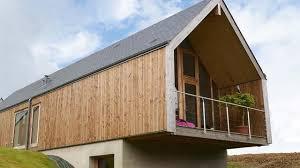 bardage extérieur bois bois composite pvc côté maison