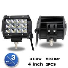 Mini Jeep Truck Led Light Bar 50000 Hours Spot Beam 36w 4 Inch 3 Row ... 300w 52 Curved Work Led Light Bar Fog Driving Drl Suv 4wd Boat 20 630w Trirow Cree Combo Truck Atv 53 Razor Extreme Lightbarled Light Barsled Outfitters Chevy Ck Roof Mount For Inch Curved 8998 92 5 Function Trucksuv Tailgate Brake Signal Reverse 052015 Toyota Tacoma 40inch Rack Avian Eye Tir Emergency 3 Watt 63 In Tow Light Rough Country Black Bull W For 0717 50inch Philips Flood Spot Lamp Offroad 13inch Double Row C3068k Big Machine Isincer 7 18w Automotive Waterproof Car
