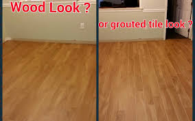 can wood look tile really look like wood the importance of grout