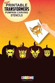 Bumblebee Transformer Pumpkin Stencil by This Photo Was Uploaded By Riley75 Halloween Pinterest