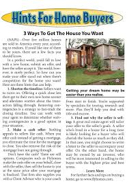 A House Your Home Is Easier Than You 3 Ways To Get The House You Want American Precis
