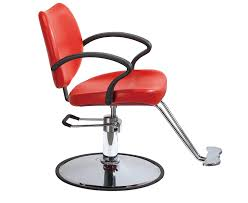 Beauty Salon Chairs Ebay by Amazon Com Red Classic Hydraulic Barber Chair Styling Salon