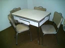 1940s Kitchen Table Circa Metal Kitchen Table 1940 Enamel Kitchen
