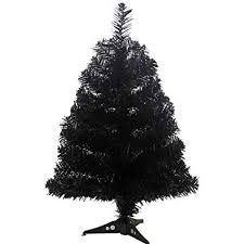 Jackcsale 2 Foot Artificial Christmas Tree Xmas Pine With PVC Leg Stand Base Holiday Decoration