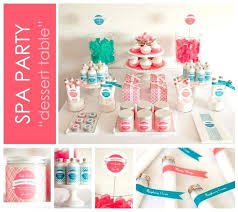 Spa Themed Party Decorations Ideas Best Images On Events Candy And Celebration