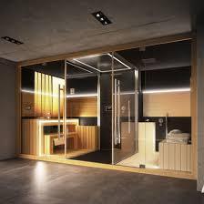 combiné sauna hammam pour centre wellness batiproduits