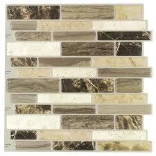 Metal Adhesive Backsplash Tiles by Self Stick Tiles For Backsplash Self Adhesive Metal Tiles