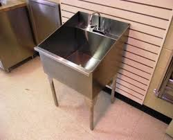 Stainless Steel Utility Sink by Ridalco Stainless Steel Laundry Sinks Ridalco Stainless Steel