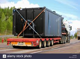 100 How Wide Is A Semi Truck Orivesi Finland Ugust 27 2018 White Semi Truck Hauls Wide