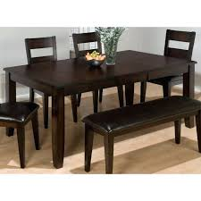 Round Dining Table For 6 Seater With Bench Room 40 X 60 36 Inch