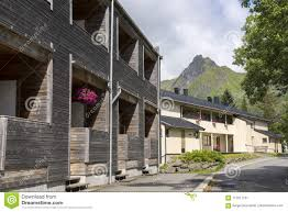 100 Houses In Norway Church And Svolvaer Stock Image Image