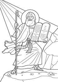 10 Commandments Coloring Pages Vivoidvrlistscom