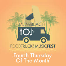 100 Food Trucks Miami Beach Road To Afroroots Truck Music Night North Bandshell