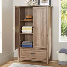 ameriwood storage cabinet with drawer furniture traditional