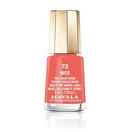Mavala Switzerland Nail Colour Cream - 72 Nice