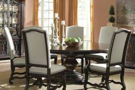 Round Dining Table For 6 Vintage Style Room And Chairs With Height