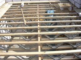 Floor Joist Span Table Deck by Easi Joists Trusstec Ltd