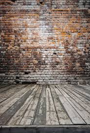 Brick Backdrop Vinyl Photography Floordrop Old Distressed Wall Photo Backgrounds