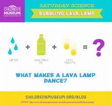 Saturday Science Bubbling Lava Lamp