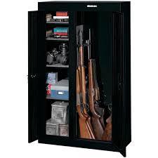 Steel Gun Cabinet Walmart by In Wall Gun Cabinet Walmart Best Cabinet Decoration