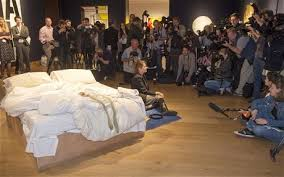 Tracey Emin My Bed by Tracey Emin Don U0027t Get In My Unmade Bed Telegraph