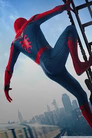 2017 Spider Man Home ing Movie ❤ 4K HD Desktop Wallpaper for 4K