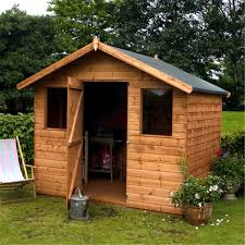 Cheap 6 X 8 Wooden Sheds by 6 X 8 Reverse Premier Tongue And Groove Apex Shed With Single Door