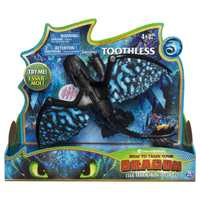 Dreamworks Dragons How to Train Your Dragon The Hidden World Action Figure - Toothless