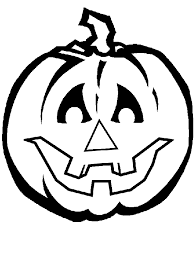 Halloween Pumpkin Coloring Pages 3